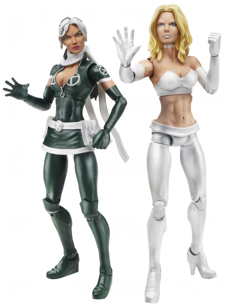 Wolverine Legends Marvel Legends Rogue and Emma Frost Action Figures