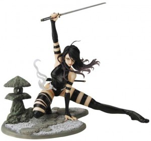 X-Force Psylocke Bishoujo Statue Kotobukiya Marvel Figure
