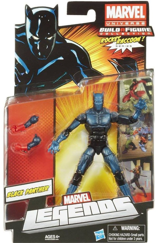 2013 Marvel Legends Black Panther Series 2 Figure Packaged Rocket Raccoon Wave