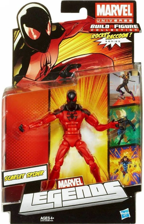 2013 Marvel Legends Scarlet Spider Series 2 Figure Packaged Rocket Raccoon Wave