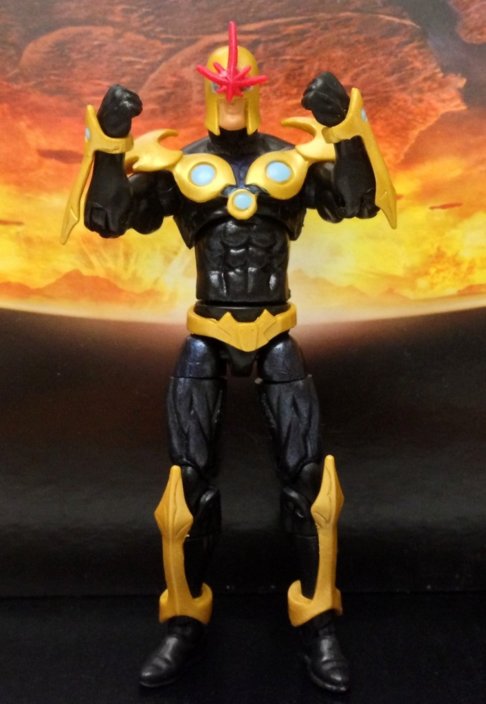 Nova Marvel Universe Figure Review Hasbro