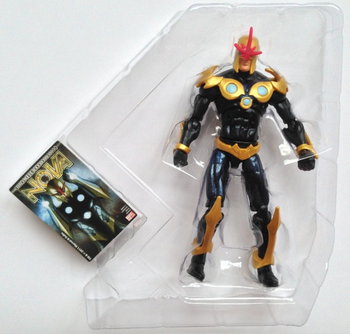 Nova Richard Rider Marvel Universe Action Figure in Bubble