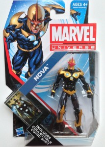 Marvel Universe Nova Figure Packaged
