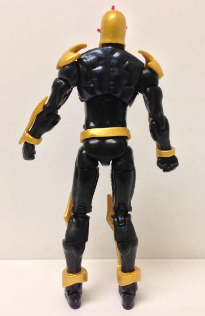 Front of Marvel Universe Wave 21 Nova Action Figure