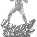 Bowen Spider-Man Shocker Statue Concept Sketch!