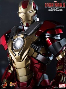 Close-Up of Heartbreaker Iron Man 3 Hot Toys Sixth Scale Figure