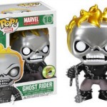 SDCC 2013 Funko Metallic Ghost Rider & James Rhodes Photos!