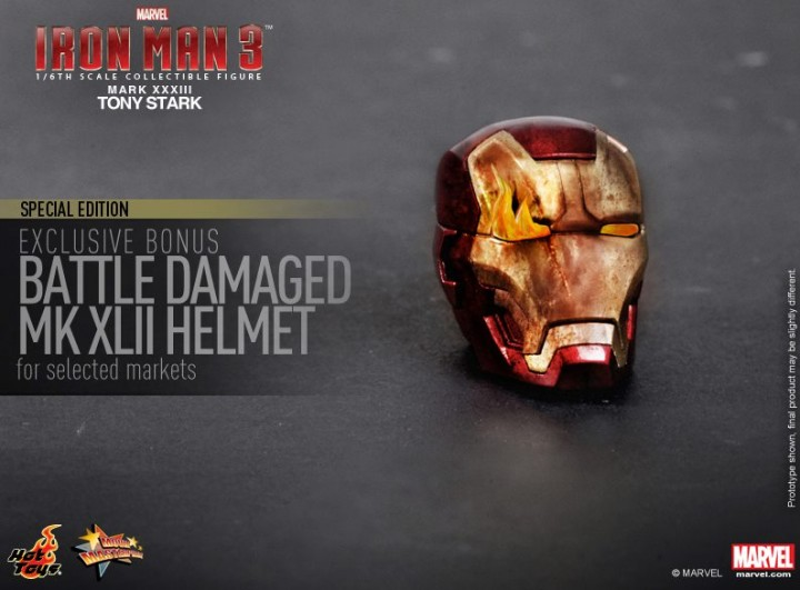 Iron Man 3 Hot Toys Si...