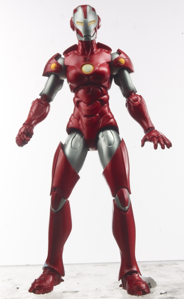 Iron Man 3 Marvel Legends Rescue Figure Wearing Helmet Pepper Potts SDCC 2013