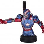Iron Man 3 Iron Patriot Bust Exclusive Revealed!