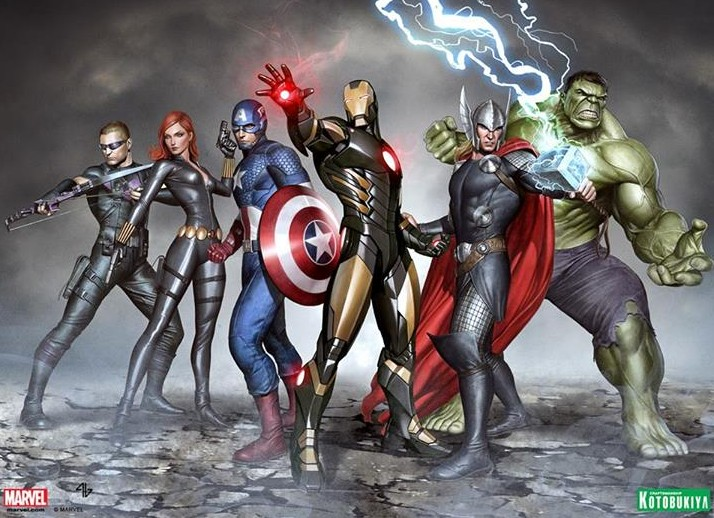 Kotobukiya ArtFX+ Marvel NOW Avengers Statues Concept Art