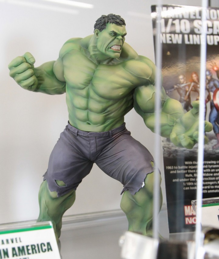 Kotobukiya Avengers ArtFX Hulk Statue SDCC 2013 Marvel NOW