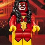 SDCC 2013 Exclusive LEGO Minifigures: Spider-Man & Spider-Woman!