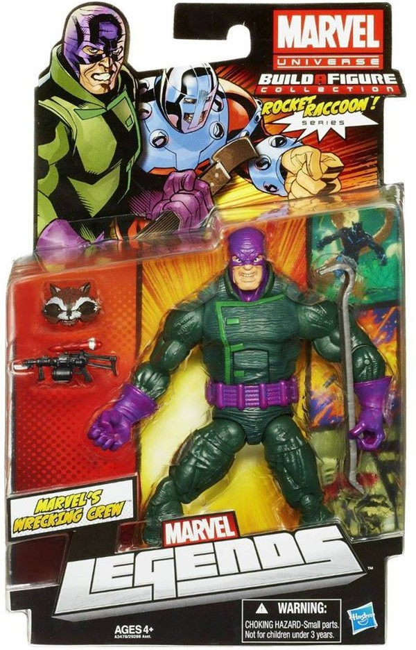 Marvel Legends 2013 Wrecking Crew The Wrecker Variant Series 2 Wave 5 Carded