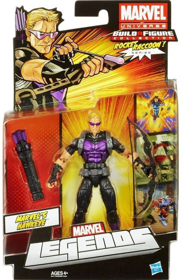 Marvel Legends Hawkeye 2013 Wave 5 Series 2 Figure Packaged Rocket Raccoon