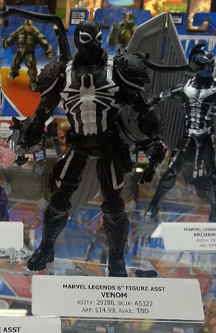 Marvel Legends Venom Eddie Brock Figure from SDCC 2013