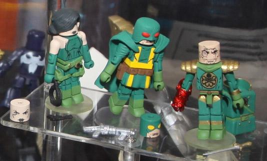 Marvel Minimates Wave 54 Baron Strucker Madame Hydra and Hydra Soldiers Figures 2013
