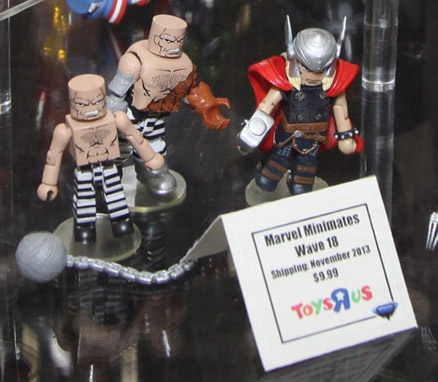 Marvel NOW Thor and Absorbing Man Minimates Marvel Series 18 Toys R Us Exclusives