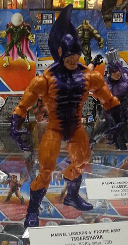 Marvel legends 2013 Series 3 Tigershark San Diego Comic Con 2013