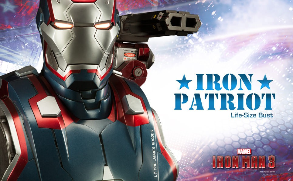 Iron Patriot Comic Sideshow Iron Patriot Life