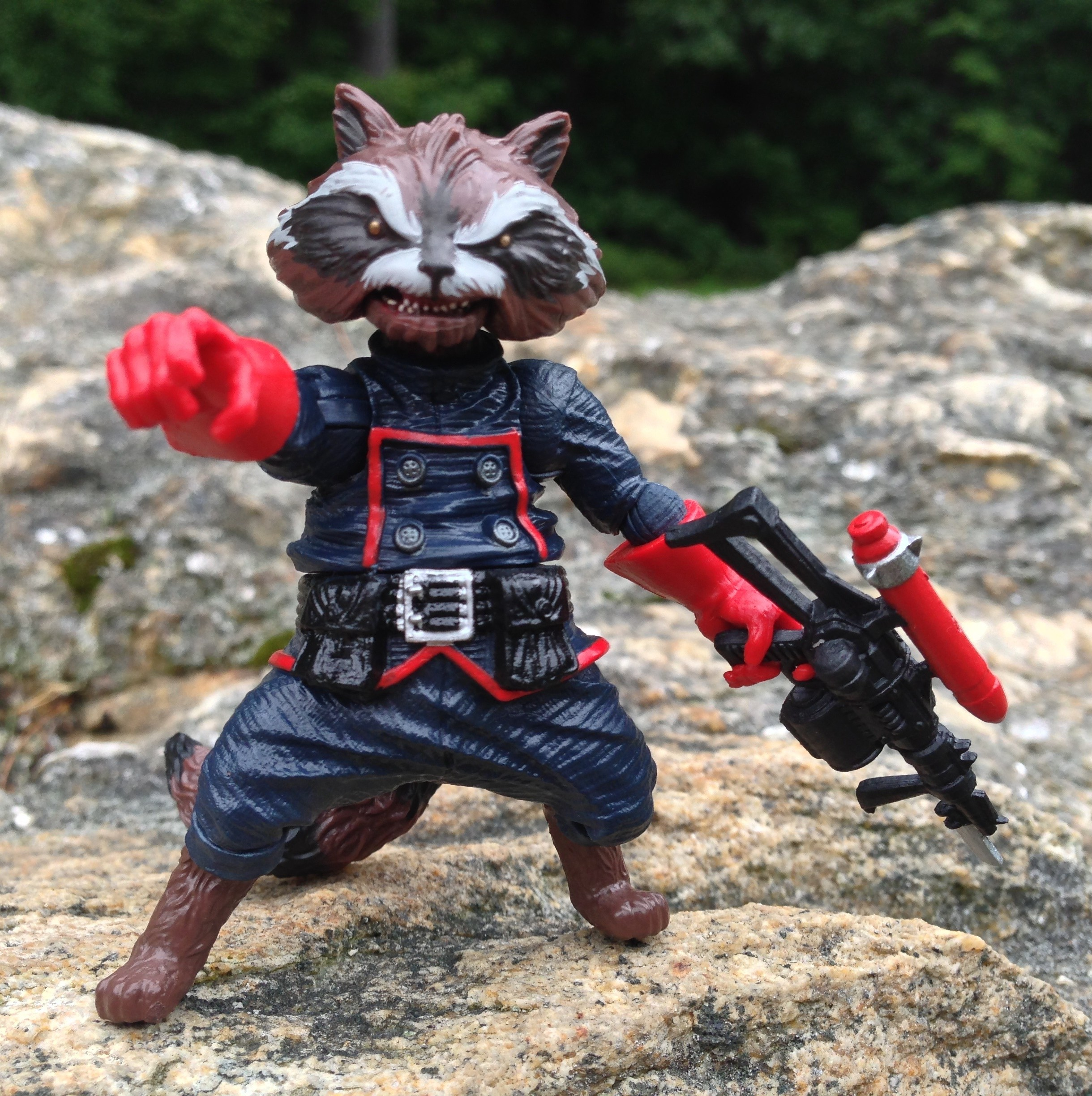 Marvel Legends Rocket Raccoon Build-A-Figure