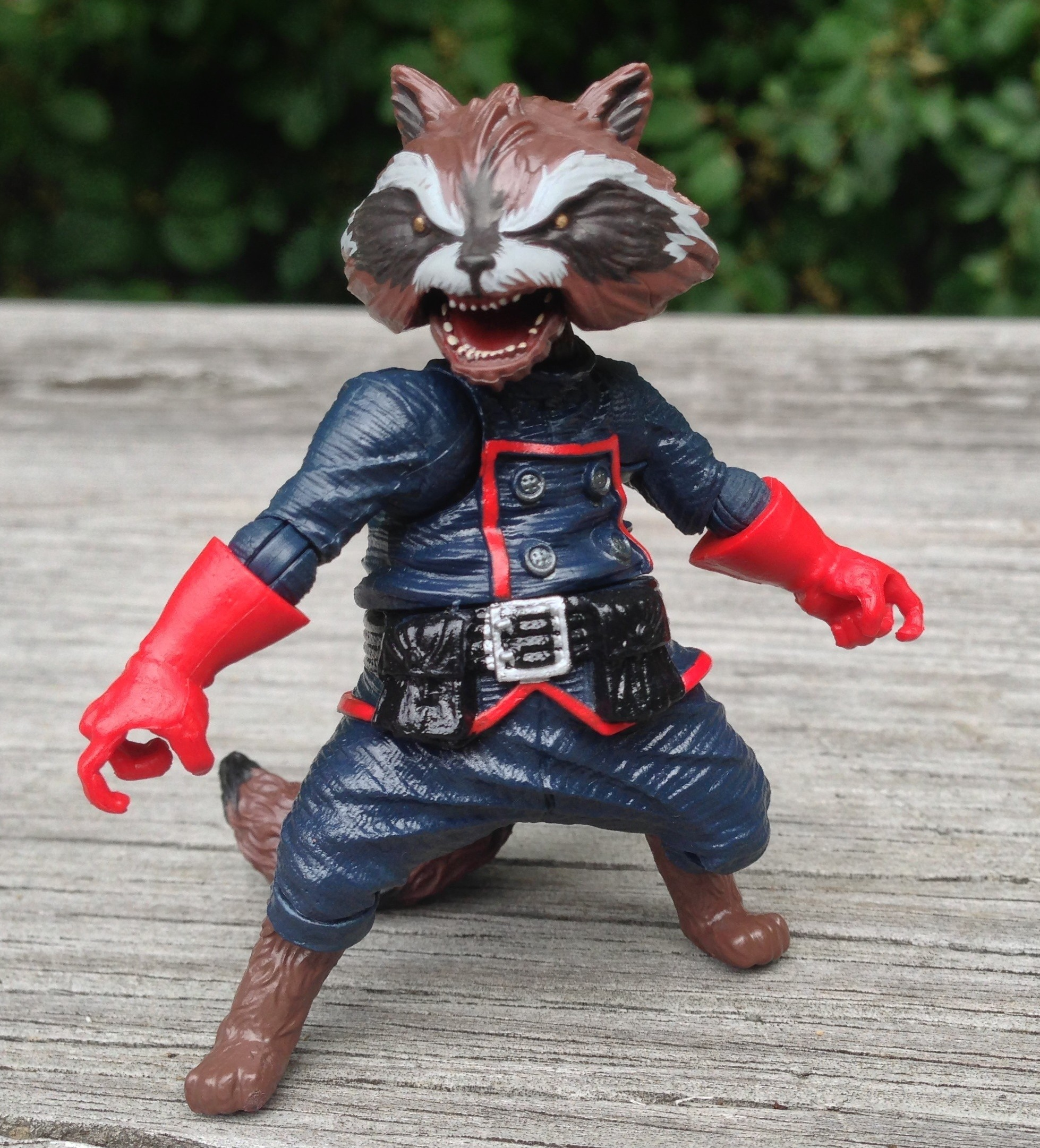Rocket Raccoon Marvel Legends Action Figure 2013