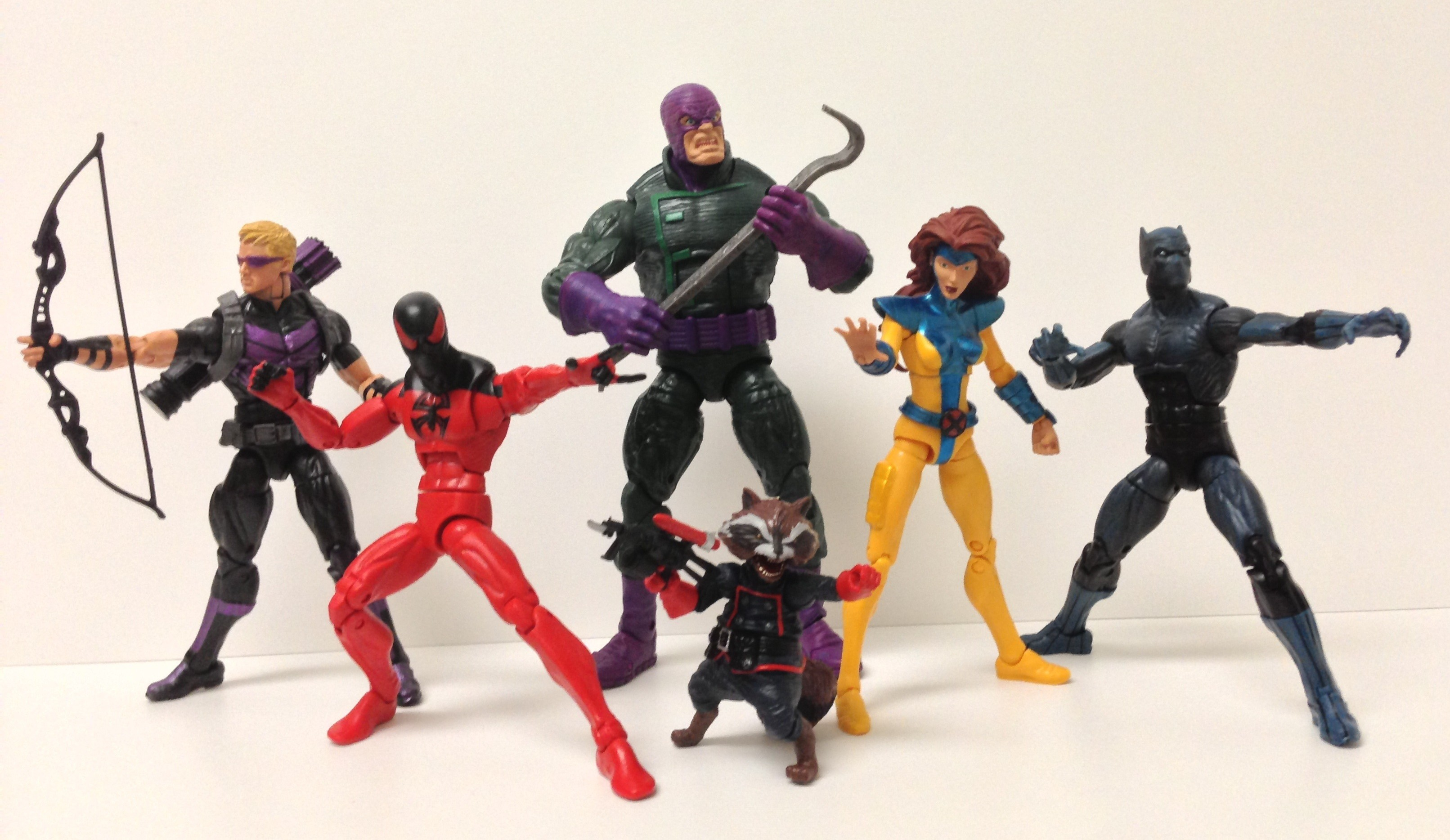 Marvel Legends 2013 Series 2 Wave 5 Scale Photo of Figures