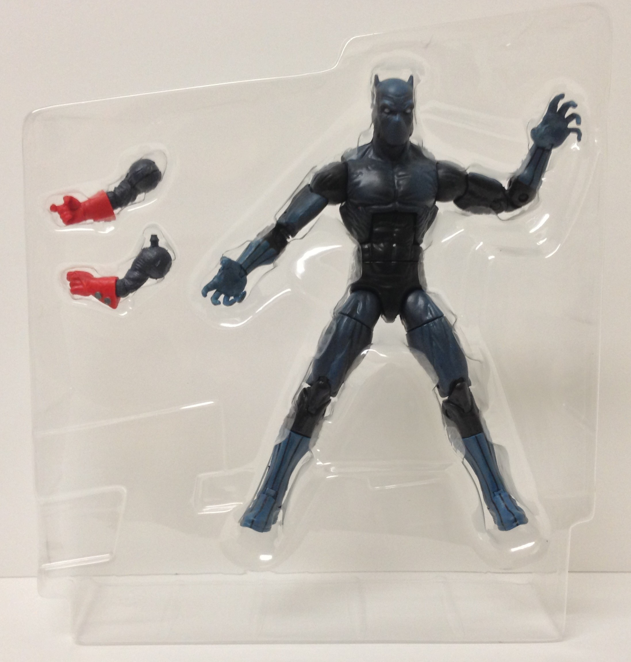 Rocket Raccoon Build-A-Figure Arms with Black Panther Action Figure