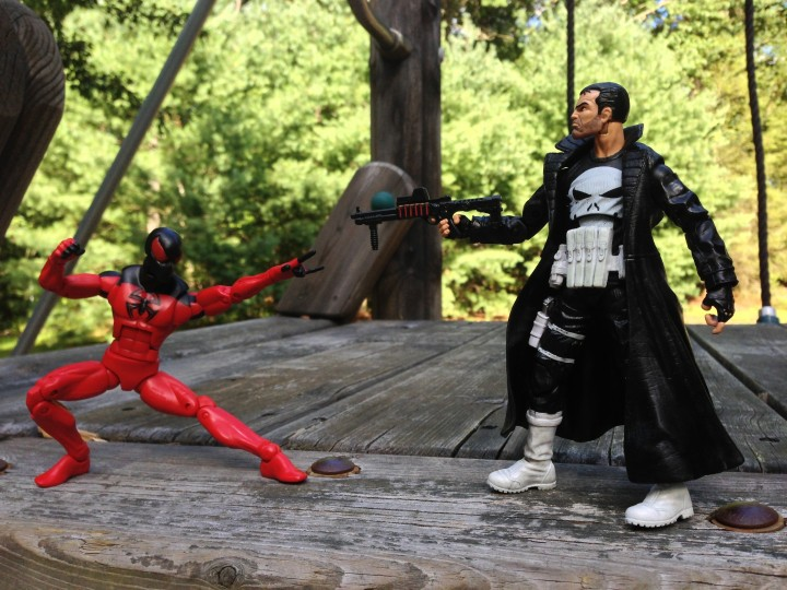Marvel Legends Wave 5 Scarlet Spider vs. The Punisher Figures