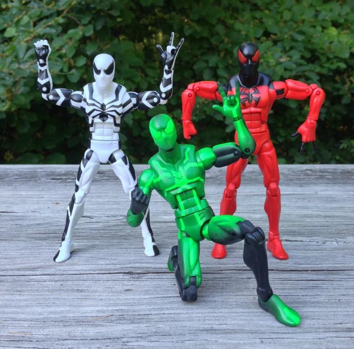 Marvel Legends Spider-Man Big-Time Future Foundation Scarlet Spider