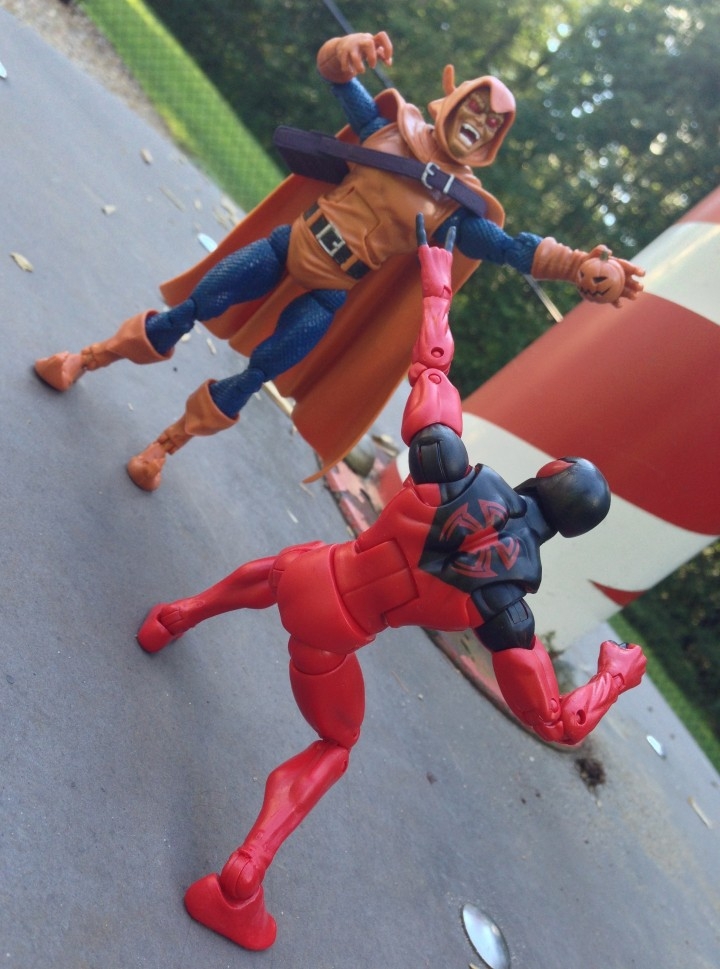 Marvel Legends Hobgoblin vs. Scarlet Spider Figure