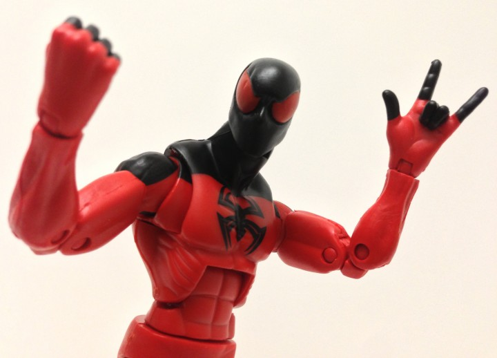 Hasbro Marvel Legends 2013 Series 2 Scarlet Spider Man Figure Kaine