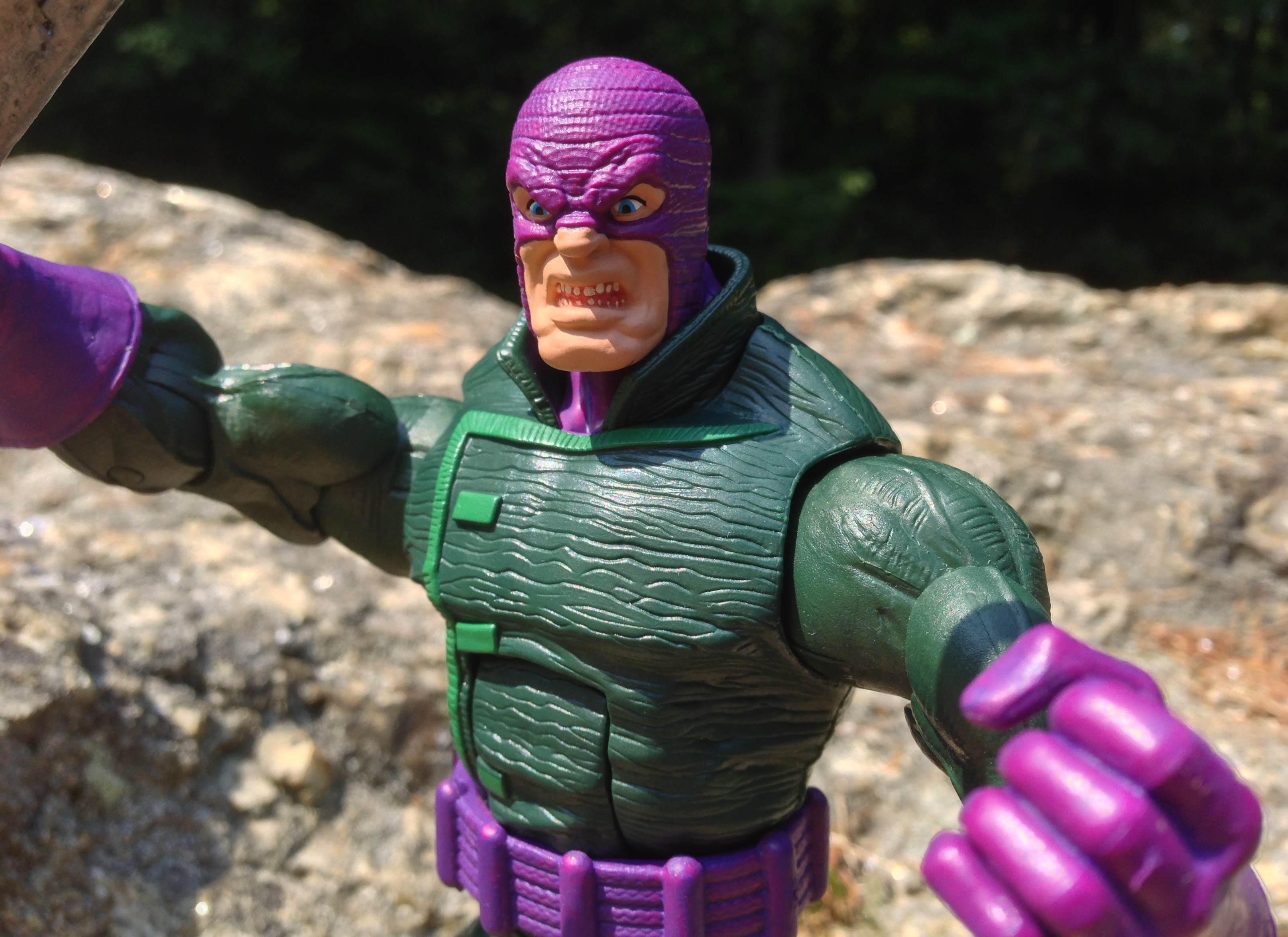 2013 Marvel Legends Wrecker Figure Close-Up