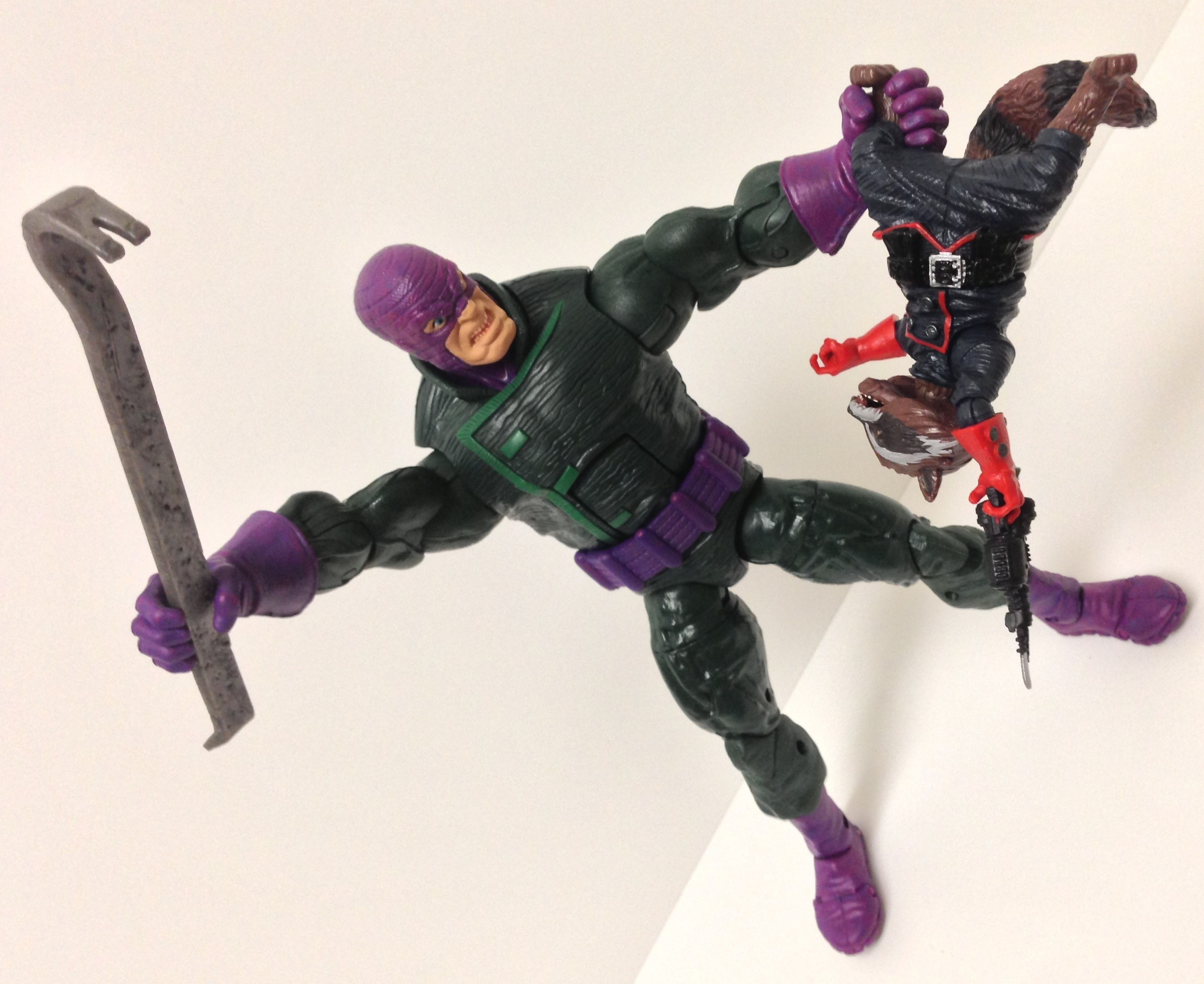 Hasbro Marvel Legends 2013 The Wrecker vs. Rocket Raccoon Figures