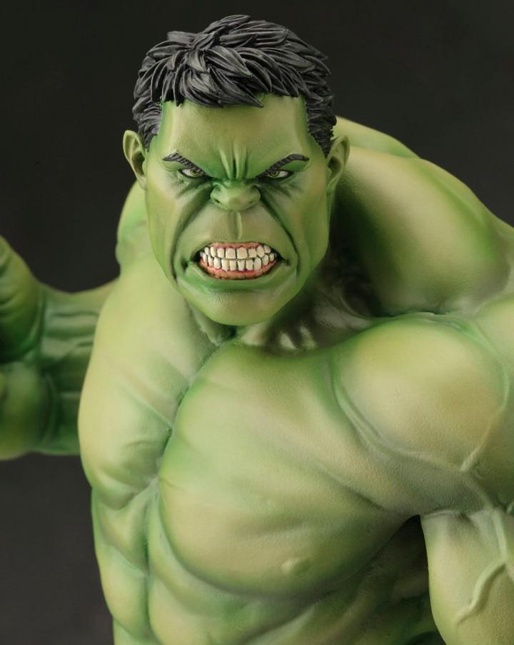 Avengers Now ArtFX Hulk Kotobukiya Statue Close-Up