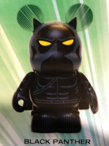 Disney Vinylmation Marvel Series 1 Black Panther Figure Card