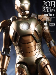 Hot Toys Iron Man 3 Midas Mark XXXI Armor Limited Exclusive Figure