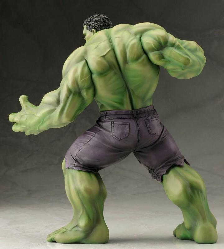 Hulk ARTFX Statue Marvel Now Avengers Kotobukiya Back