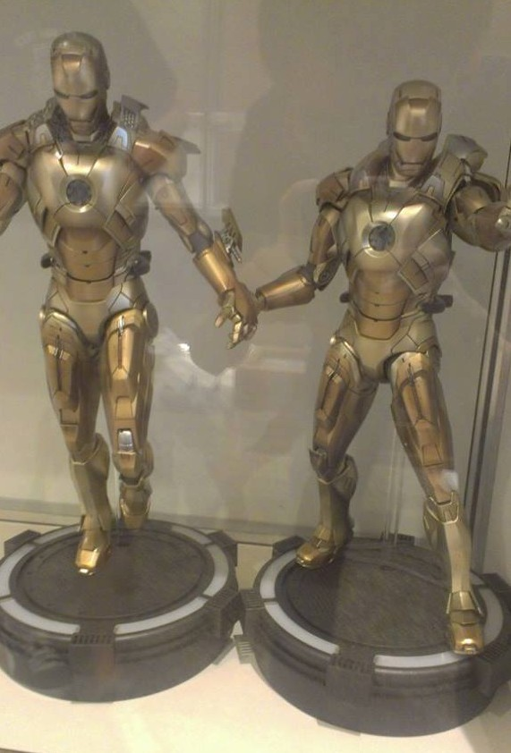 Iron Man 3 Hot Toys Midas Mark 21 Movie Masterpiece Series Figures