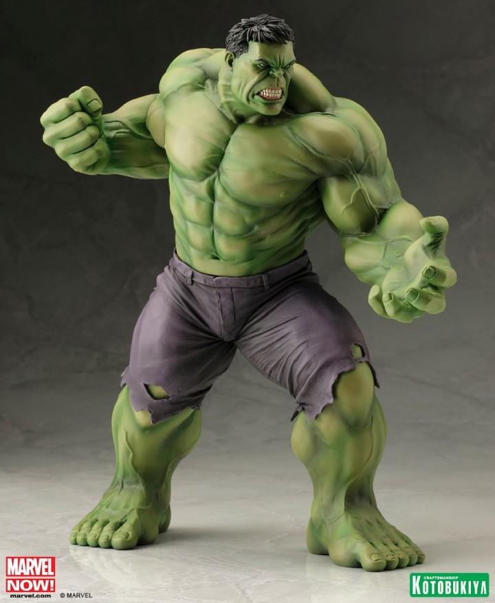 Kotobukiya Hulk Marvel Now ARTFX Statue March 2014