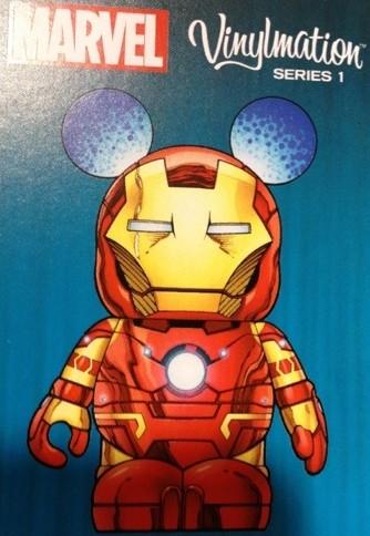 Marvel Vinylmation Series 1 Iron Man Trading Card Photo D23 Expo 2013