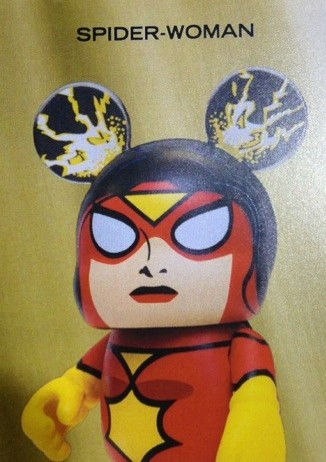 Marvel Vinylmation Spider-Woman Series 1 Figure Card