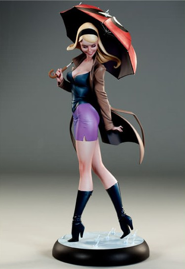 Sideshow Gwen Stacy Comiquette Statue Front