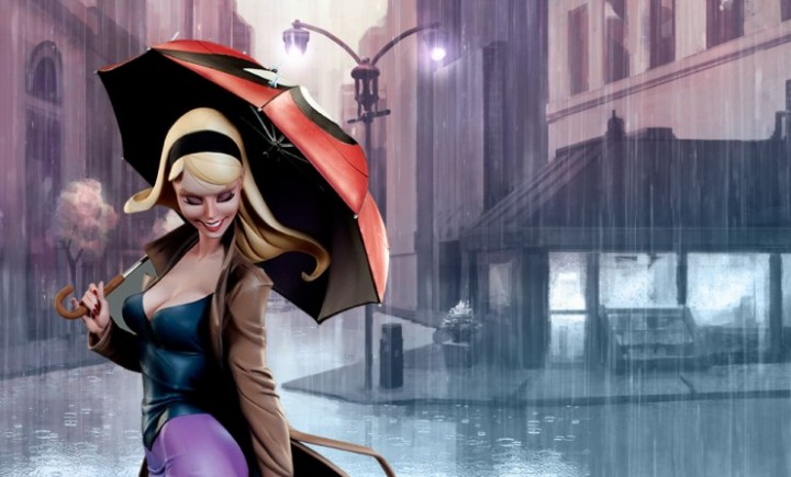 Sideshow Gwen Stacy Statue