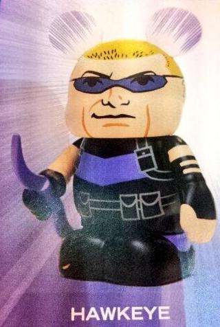 Vinylmation Marvel Hawkeye Combo Topper Series 1 Exclusive Figure