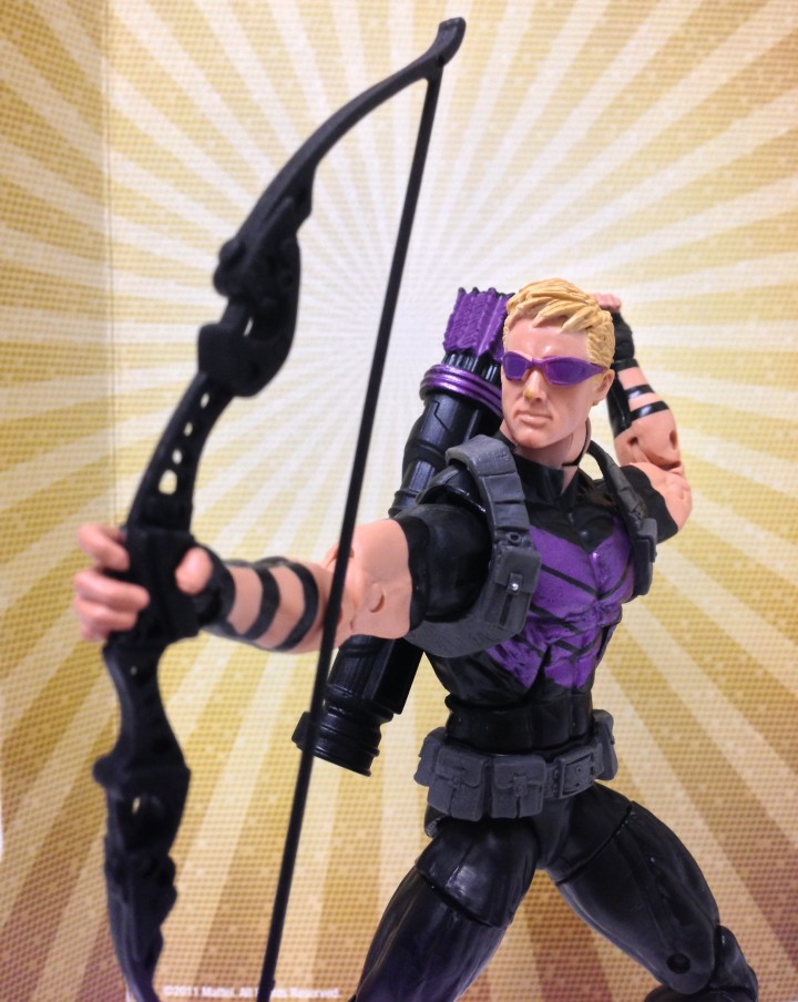 Marvel Legends Hawkeye Modern Action Figure Hasbro 2013