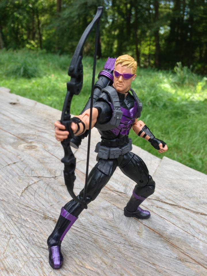 "6"" Marvel Legends Hawekeye Modern Hasbro 2013 Figure"