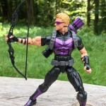 Marvel Legends Hawkeye Figure (Modern Variant) Review Wave 5 2013