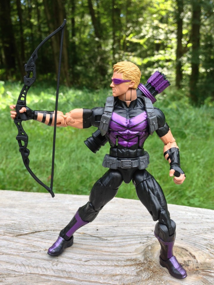 2013 Marvel Legends Modern Hawkeye Variant Firing Bow