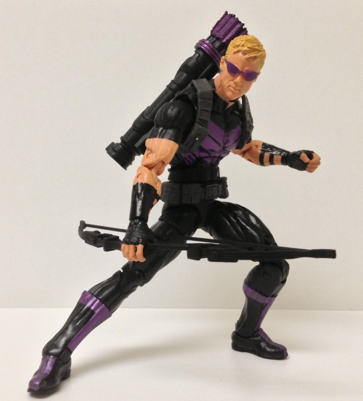 Hawkeye Marvel Legends 2013 Figure with Bow and Quiver